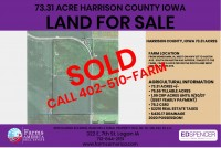 UNDER CONTRACT! - 2 Harrison County Farms For sale